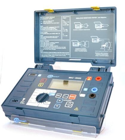 Поверка измерителя параметров электроизоляции MIC-5000