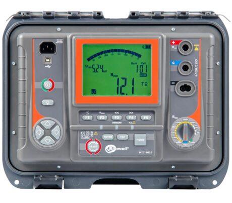 Поверка измерителя параметров электроизоляции MIC-5010